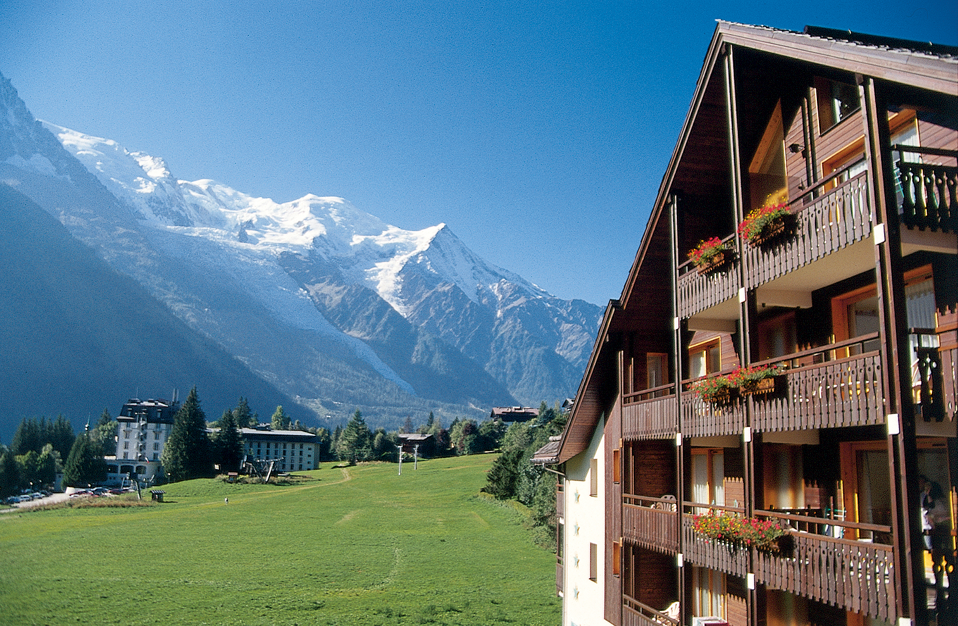 Chalet and apartments to rent in chamonix for Hotels chamonix